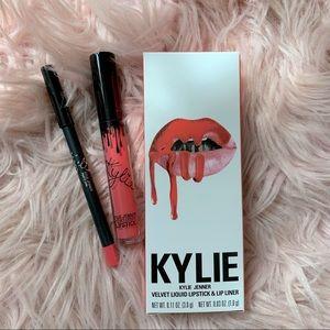 kylie cosmetics party girl velvet liquid lip kit